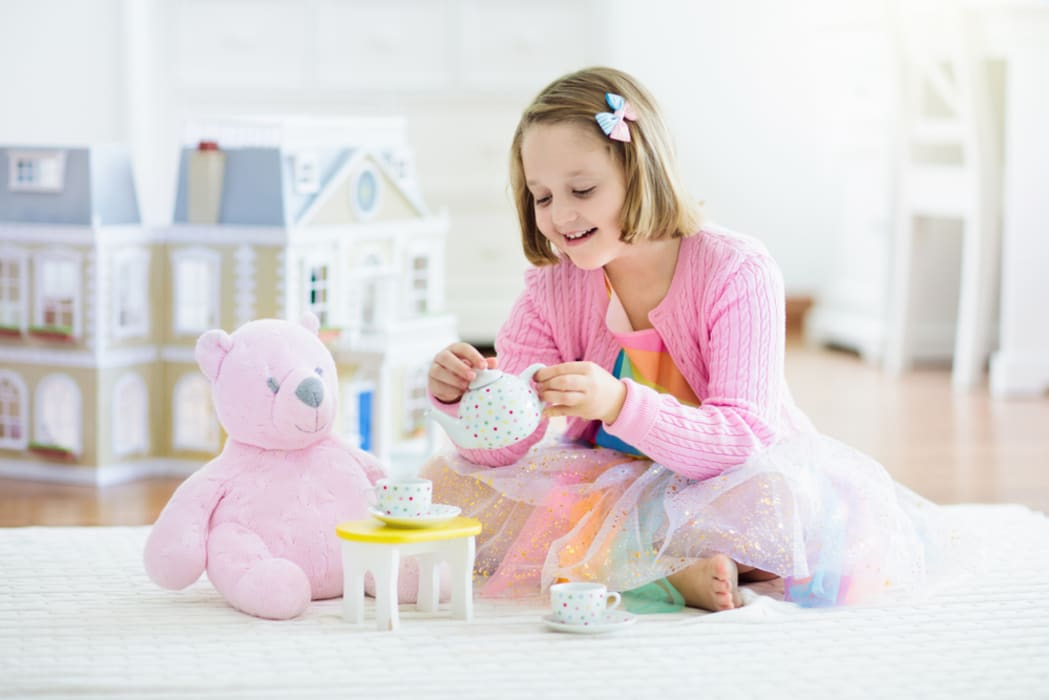 New York - Kids Tour: Doll Tea Party at Let's Dress Up!