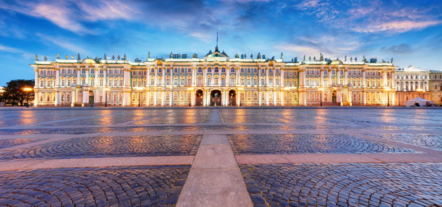 Saint Petersburg - Palace Square: 300 Years of Russian History