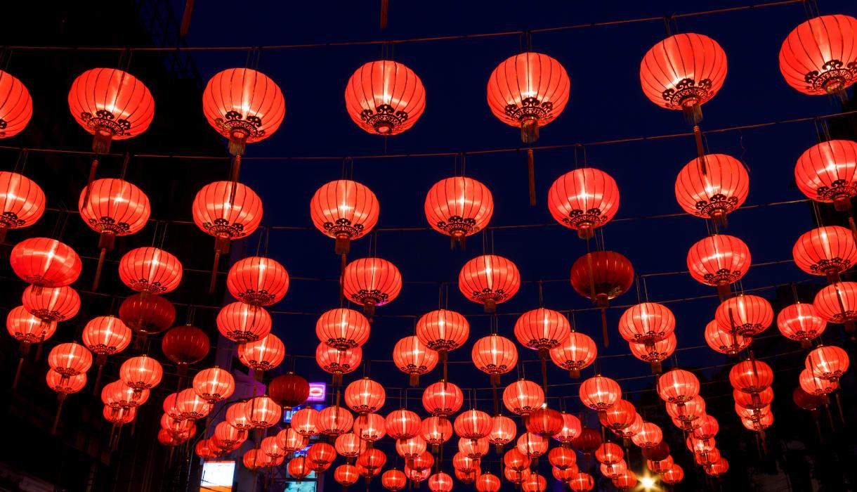 New York - New York at Night: Little Italy & Chinatown