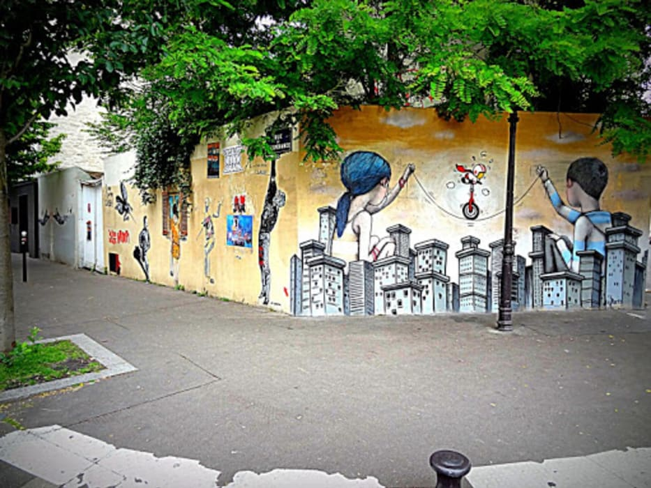 Paris - Hidden Gems - La Butte aux Cailles and Street Art of Paris