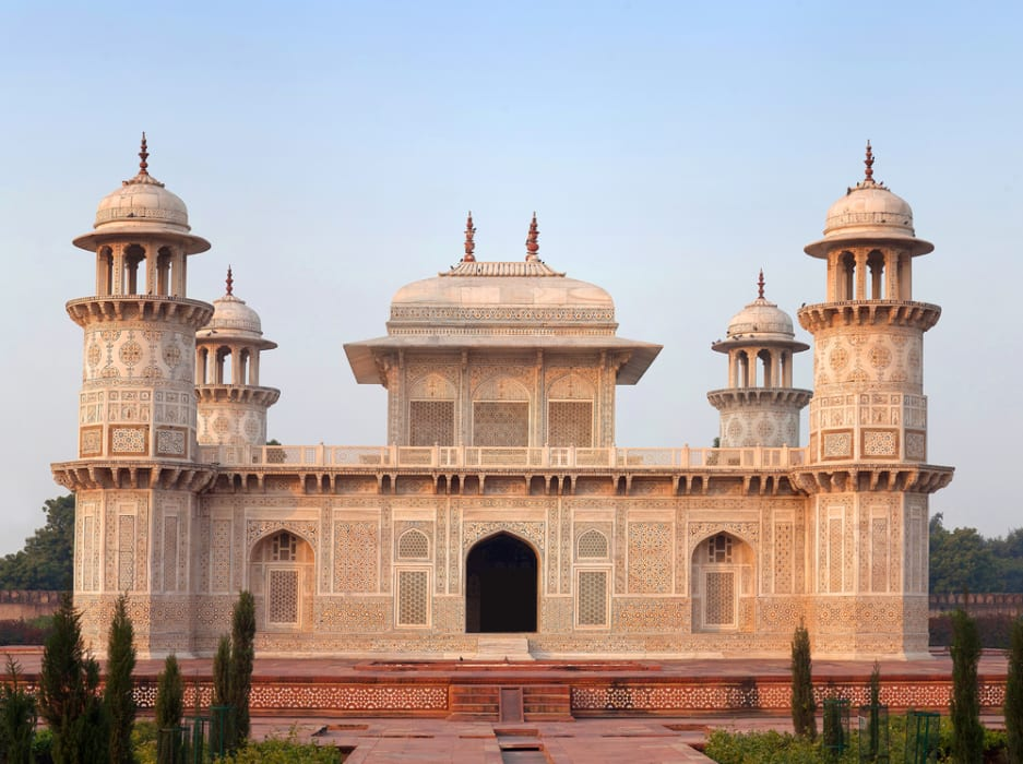Agra - Tomb of Itimad-Ud-Daulah (Baby Taj Mahal)