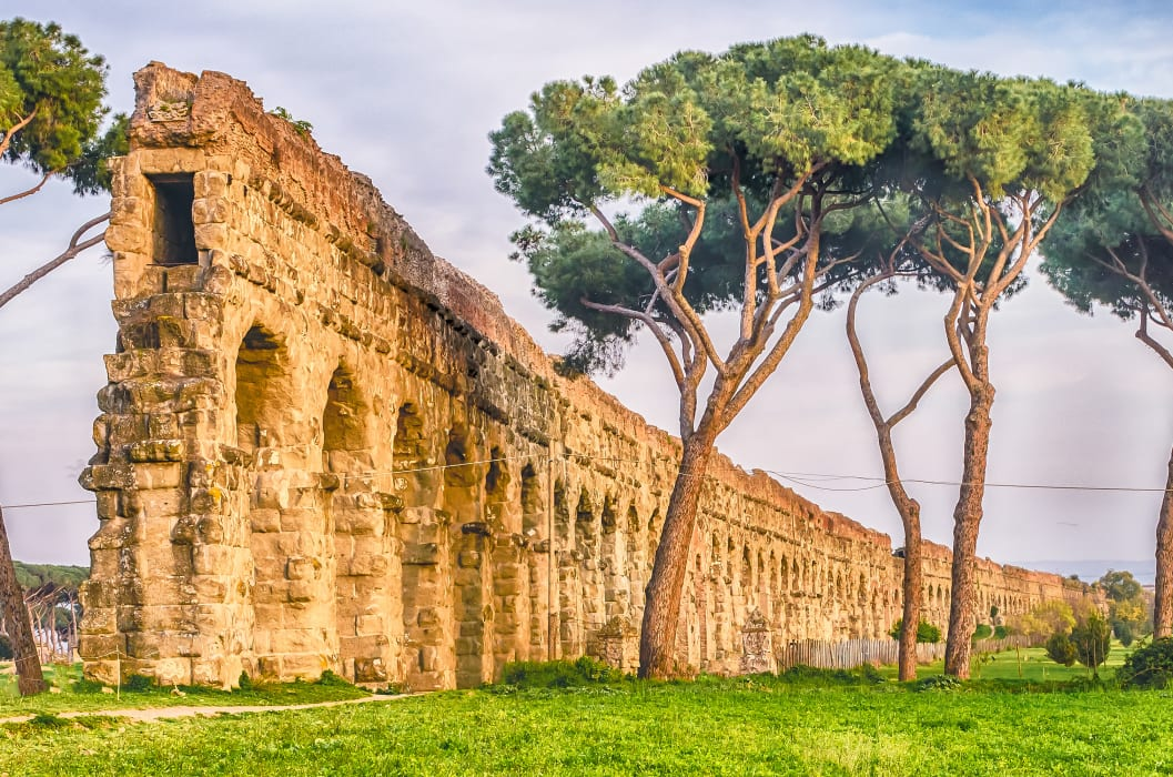 Rome - The Park of the Aqueducts