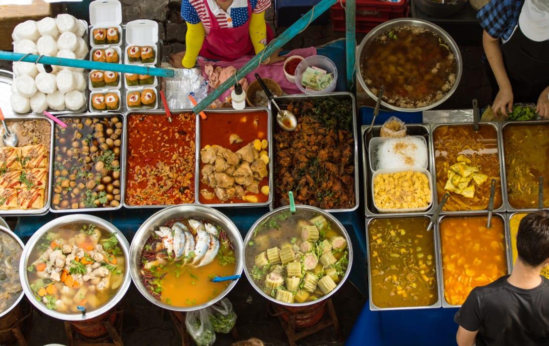 Bangkok - A Walk in Or Tor Kor (OTK) Market