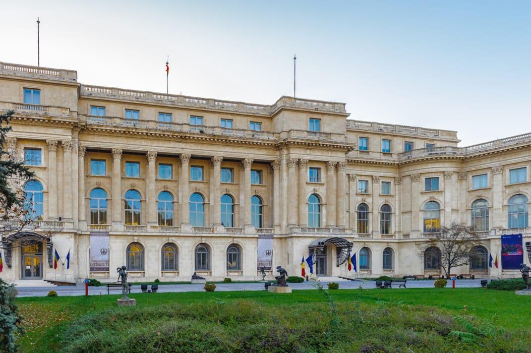 Bucharest - Walking round the Royal Palace