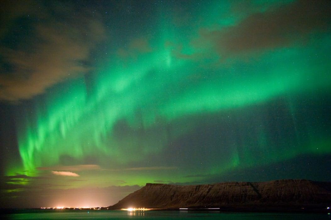 Reykjavik - Hunting for northern lights  near Reykjavik