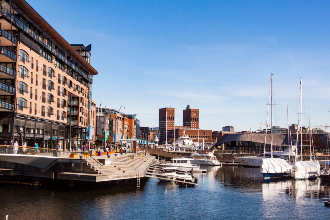 Oslo - Aker Brygge: embrace modern urban Scandinavian design