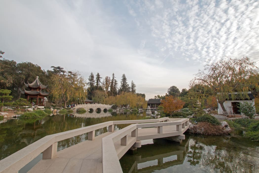 Los Angeles - Gardens of Los Angeles : The Garden of Flowing Fragrance