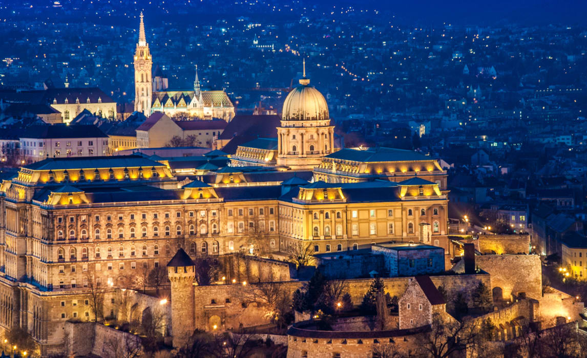 Budapest - Budapest Limited Series: Buda Castle Quarter by Night