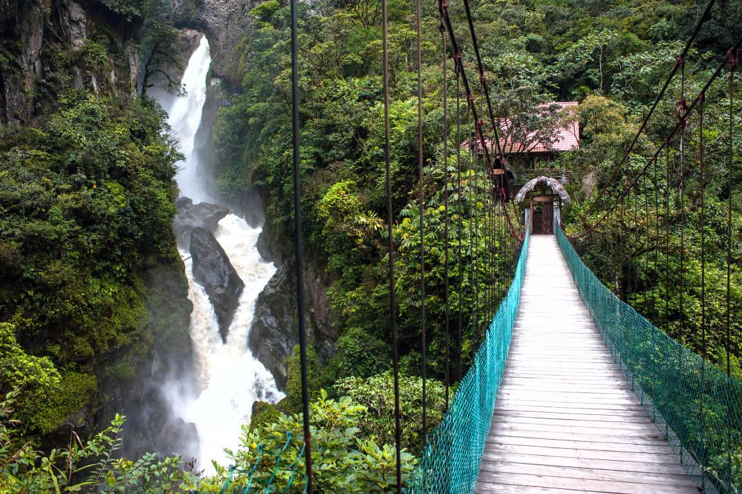 Quito - Baños de Agua Santa Extreme sports