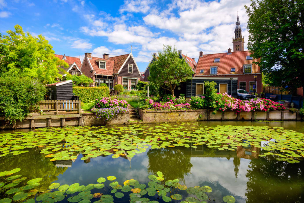 Edam - Bike from Edam to Volendam and Back