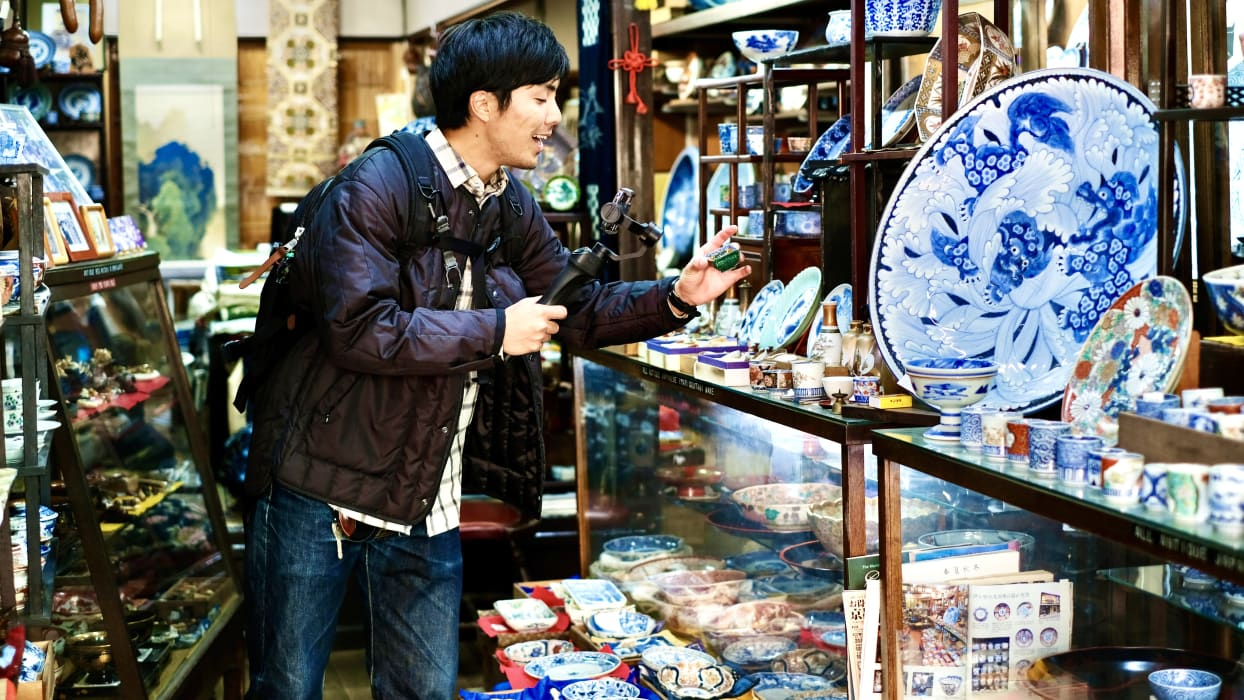 Kyoto - Find your  favorite antiques in Kyoto