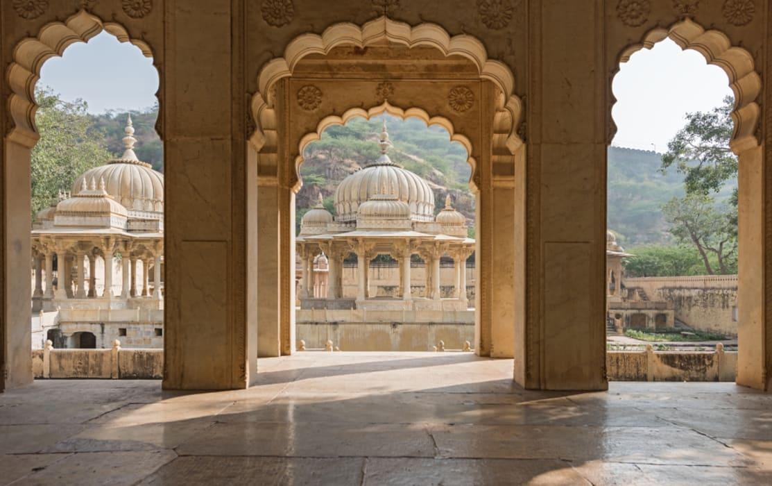 Jaipur - Gaitore - Cenotaphs of the Kings