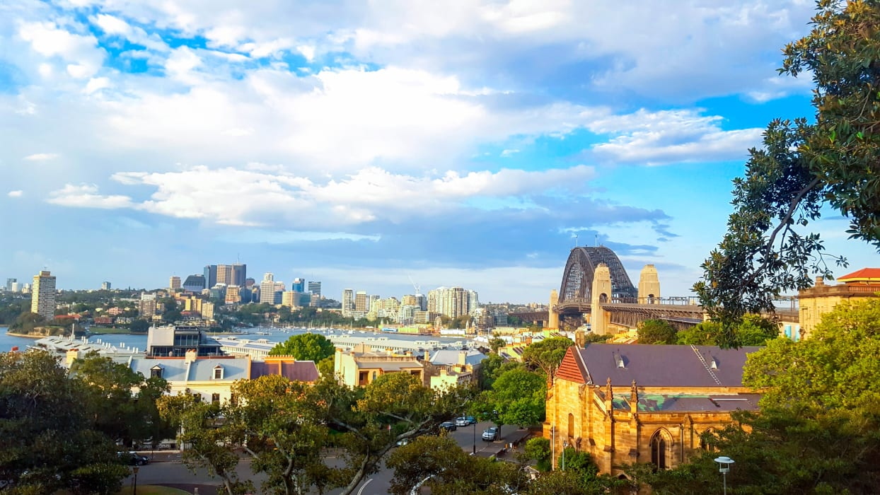 Sydney - From Observatory Hill to the Harbour (Sydney Bridge & Opera House)