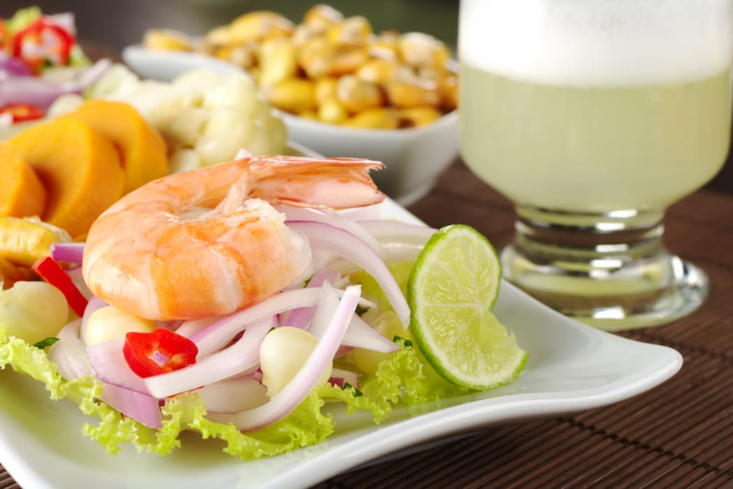 Lima - Peruvian Ceviche and Pisco Sour cooking class
