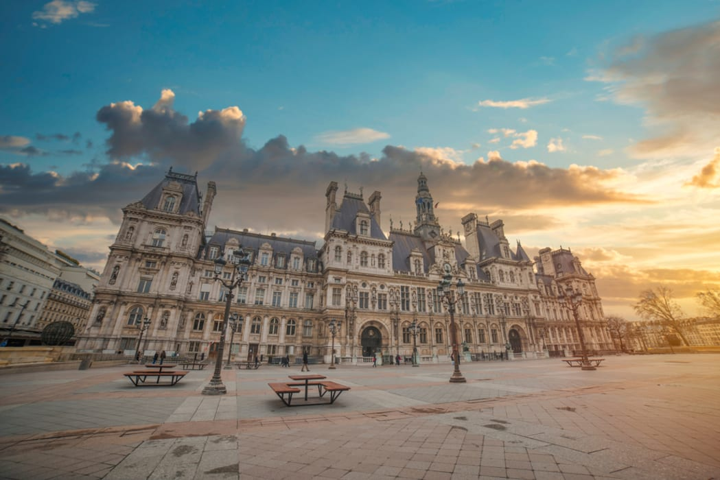 Paris - Paris city hall - The politic Power of Paris
