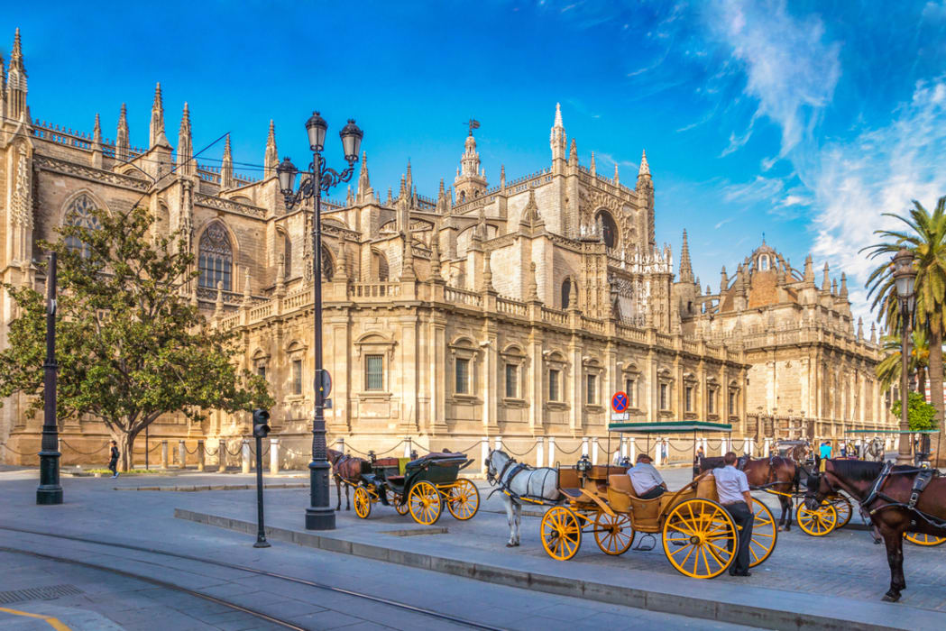 Seville - The Largest Gothic Cathedral in the World and the Historic City