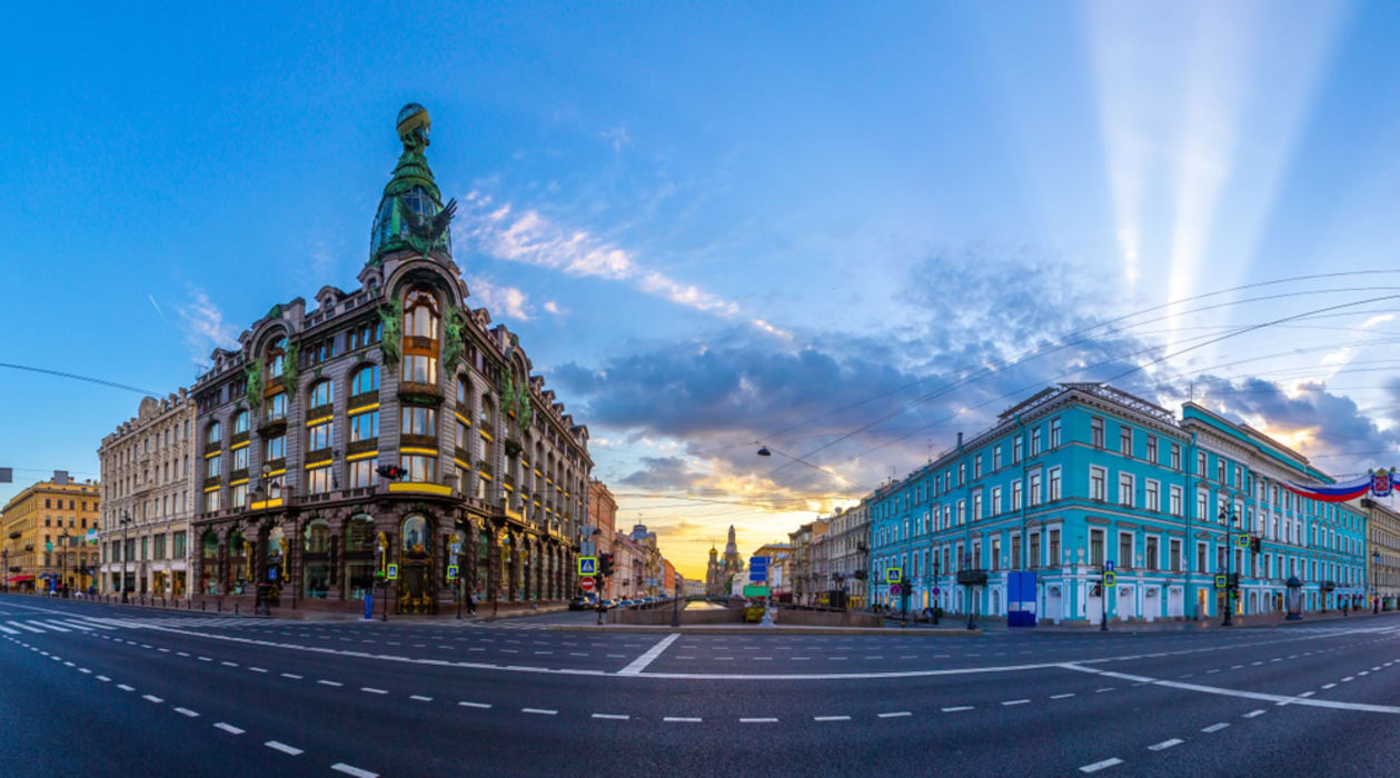 Saint Petersburg - The Glamorous Nevsky Avenue