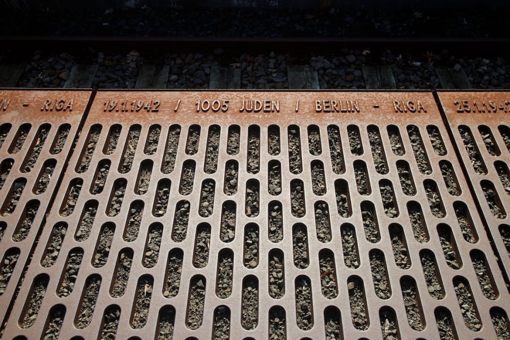 Berlin - Platform 17 - a memorial to the Jewish deportations
