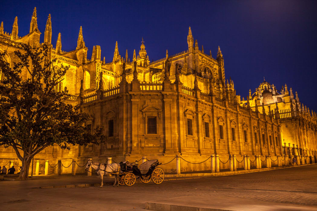 Seville - Sevilla at night, the tour you must see!