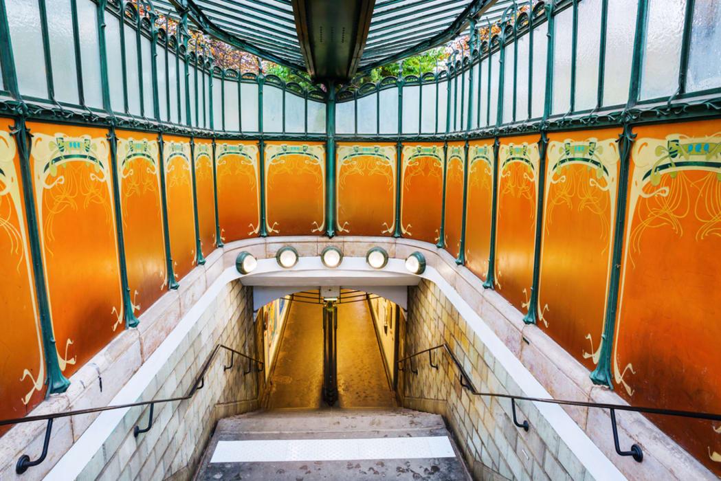 Paris - Art Nouveau in the 16th District