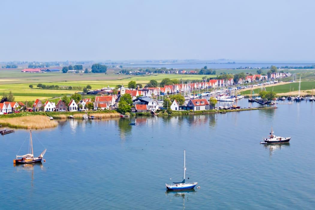 Amsterdam - Villages, fields & water - Durgerdam to Schellingwoude