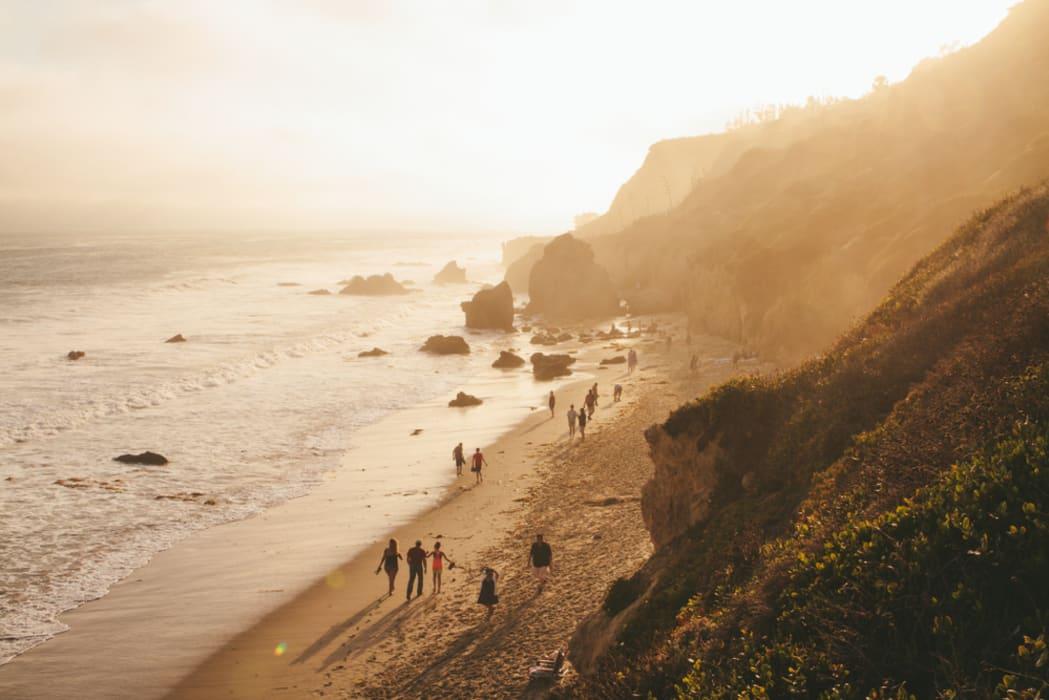 Los Angeles - El Matador Beach (Malibu's Most Beautiful)