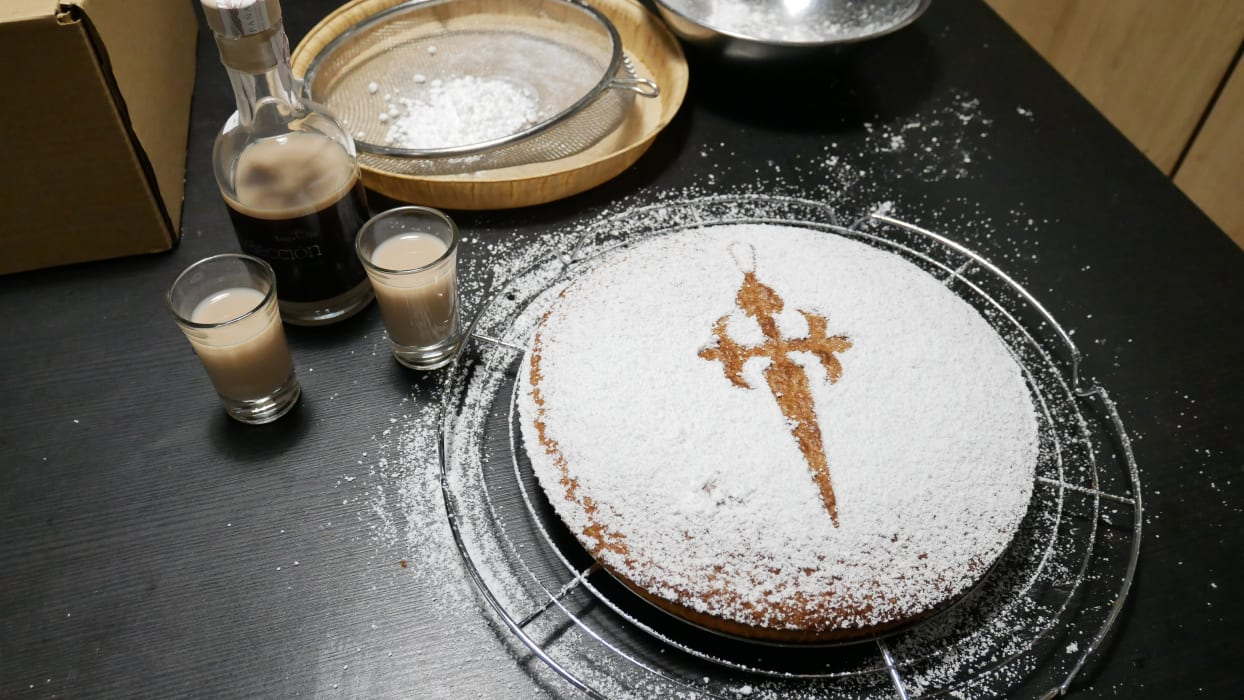 Galicia - Tarta de Santiago (Cake of St. James) for the Holy Year Xacobeo 2021