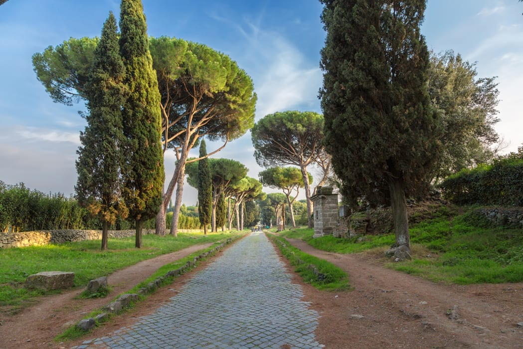 Rome - The Ancient Appian way: the Regina viarum