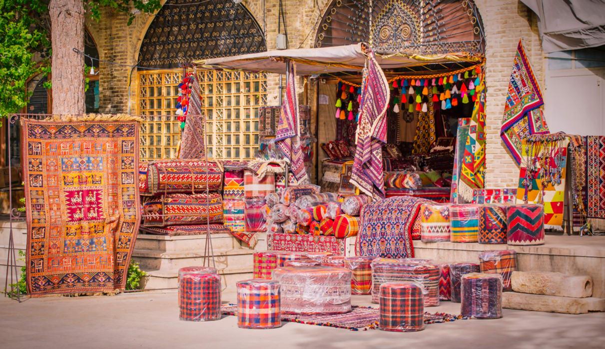 Shiraz - Old Vakil Bazaar, Old and Historical Market in Shiraz.