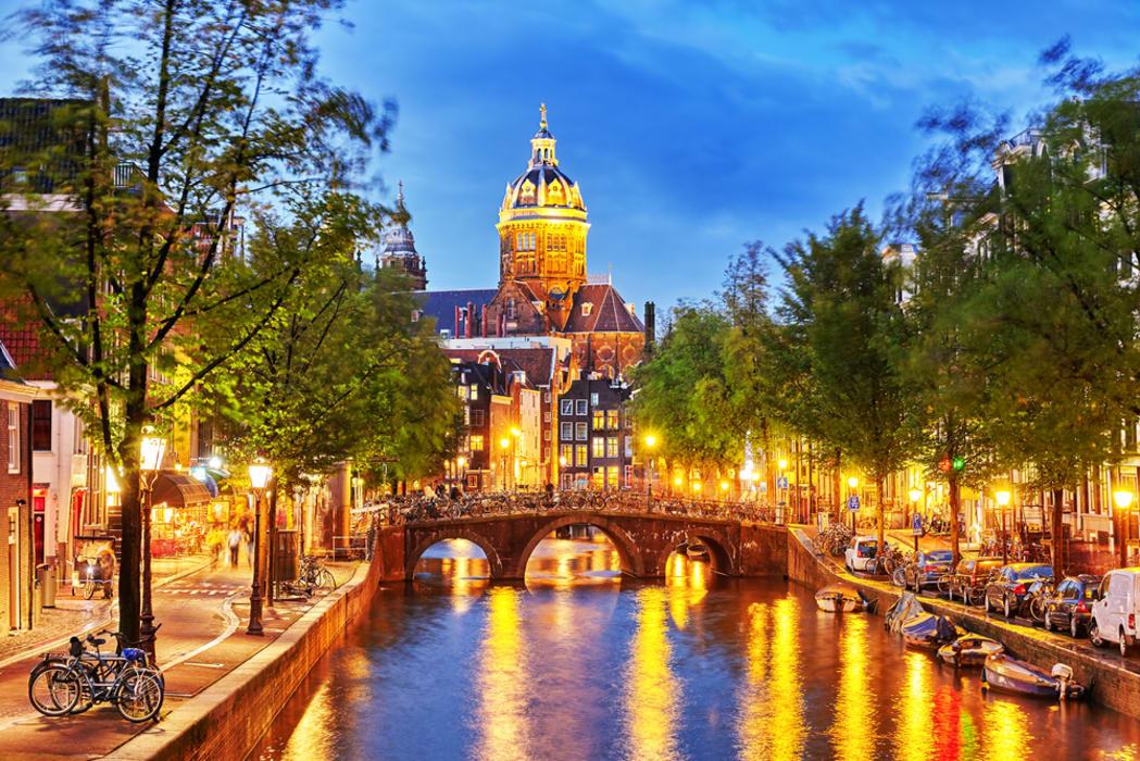 Amsterdam - Amsterdam by night, a fairytale.