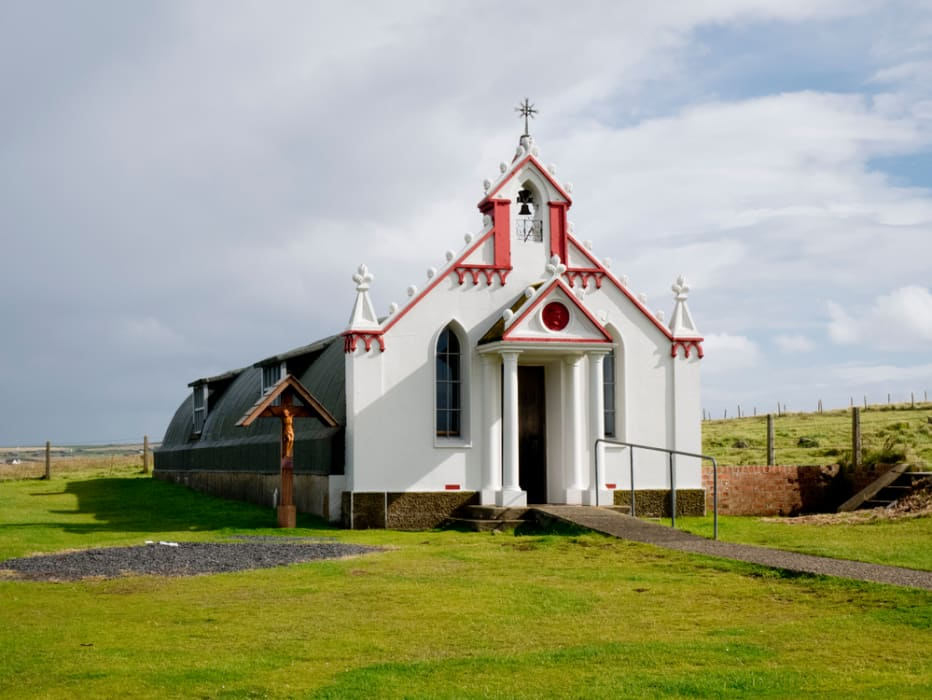 Orkney - The Italian Chapel, The Miracle Of Camp 60.