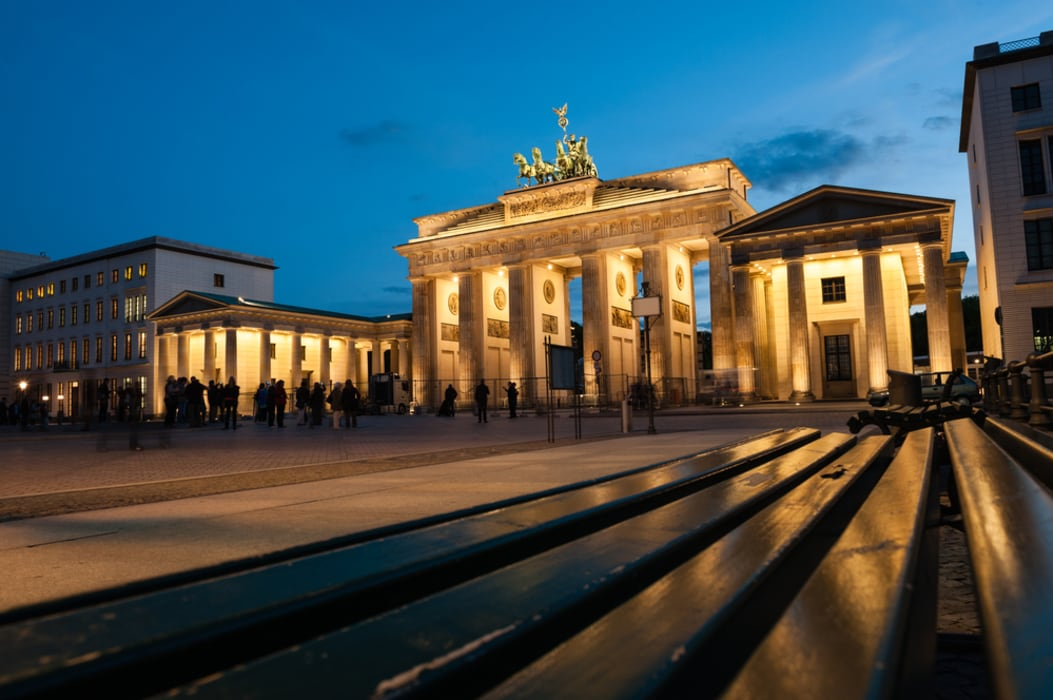 Berlin - Berlin by night - a postcard tour