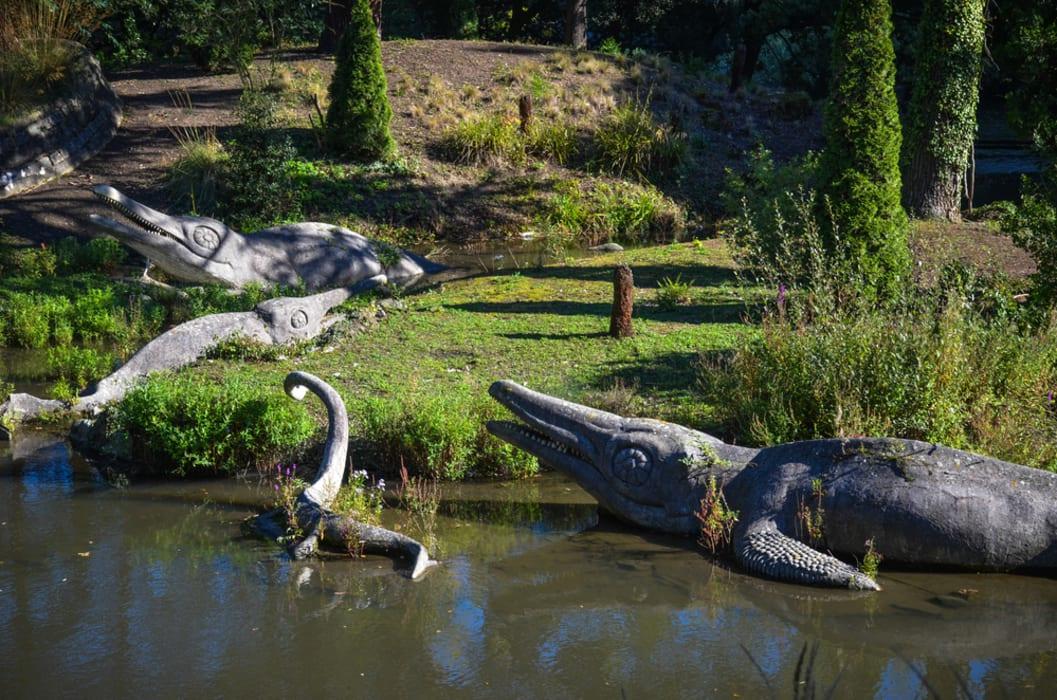 London - The Crystal Palace Victorian 'Dinosaur Tour'