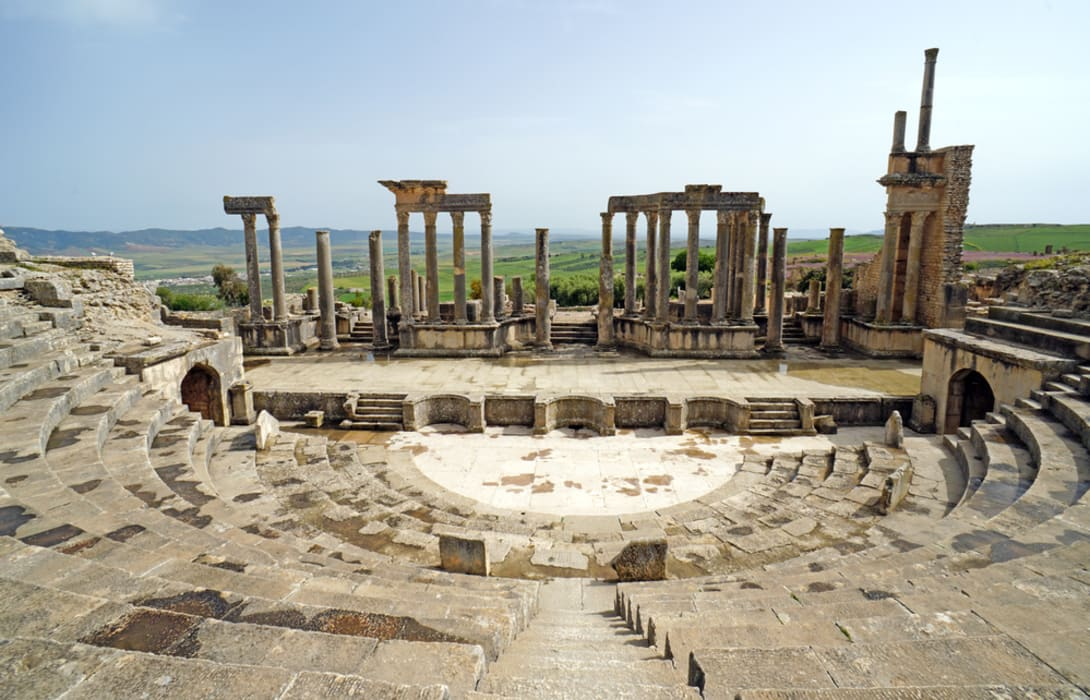 Dougga - Comprehensive Visit Of The Archaeological Site Of Dougga - UNESCO World Heritage