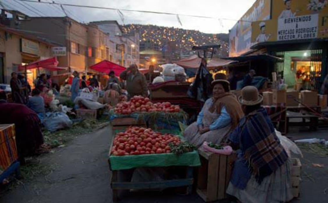 La Paz - The Popular Rodriguez Market