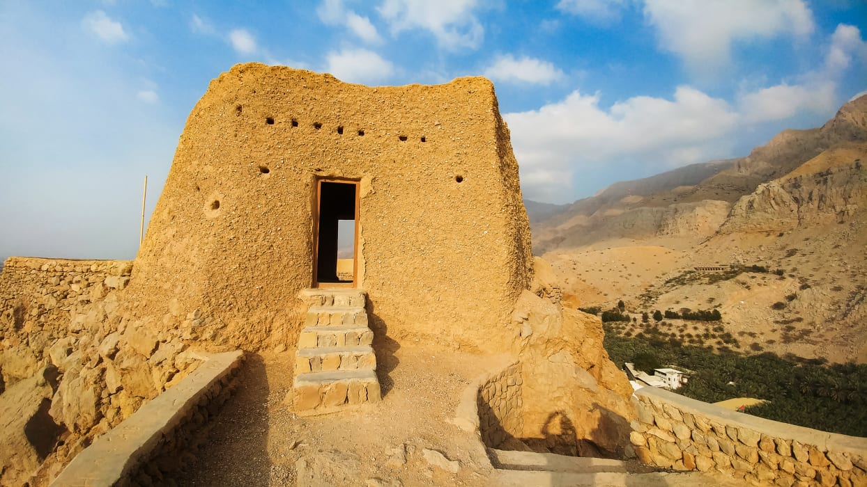 Ras al Khaimah - Dhayah Fort: The highest hilltop fort in the UAE