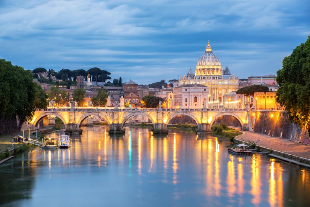 Rome - Special Rome's Birthday: celebrating the Eternal city by Night