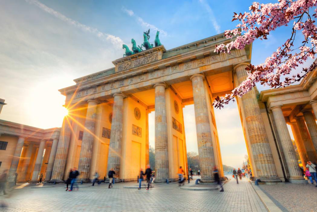 Berlin - Brandenburg Gate to Potsdamer Platz