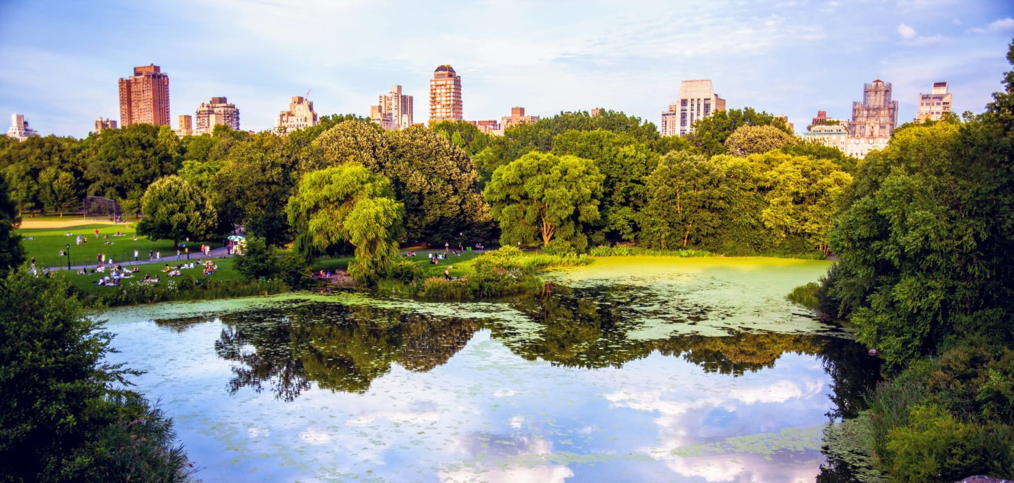 New York - Central Park: Statues and Fountains and Lakes