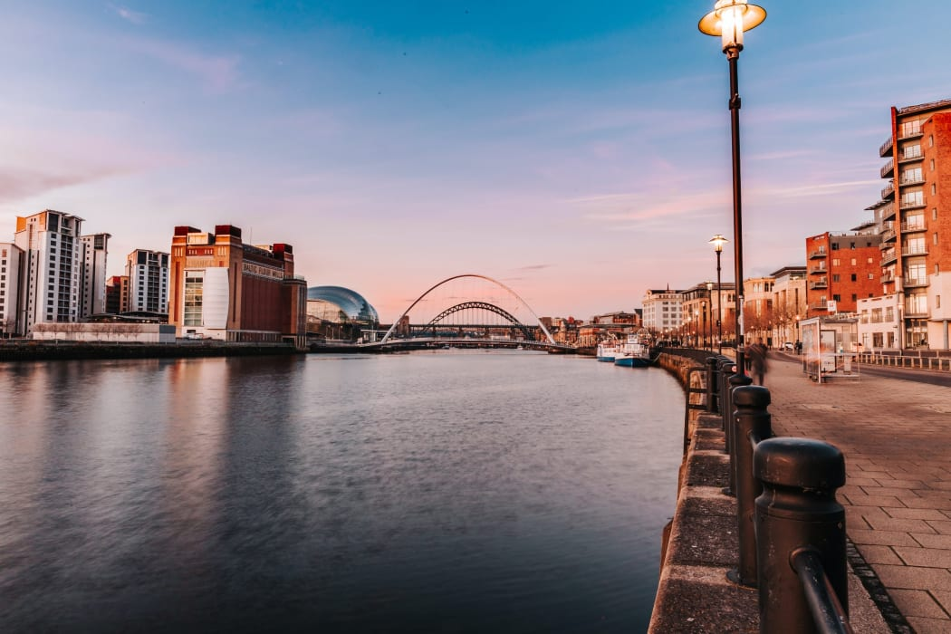 Newcastle - The Walking Tour of Newcastle's Quayside