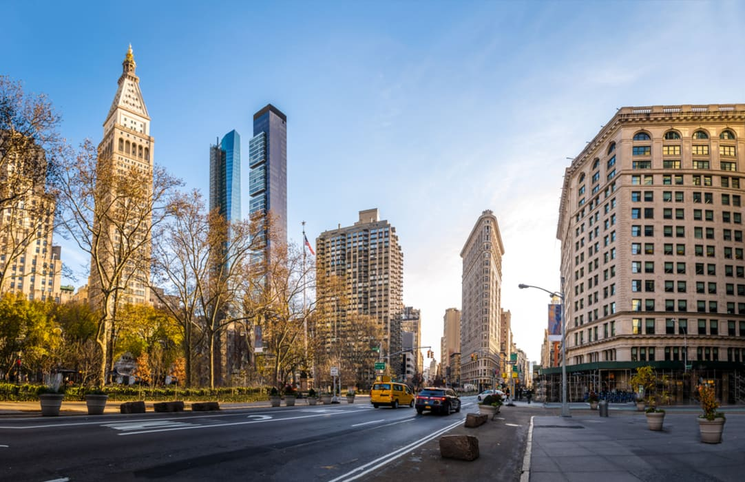 New York - Madison Square Park & the Flatiron District