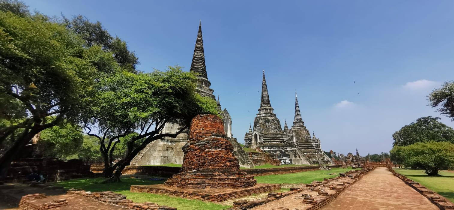 Ayutthaya - Wat Prasi-sanpet in Ayutthaya