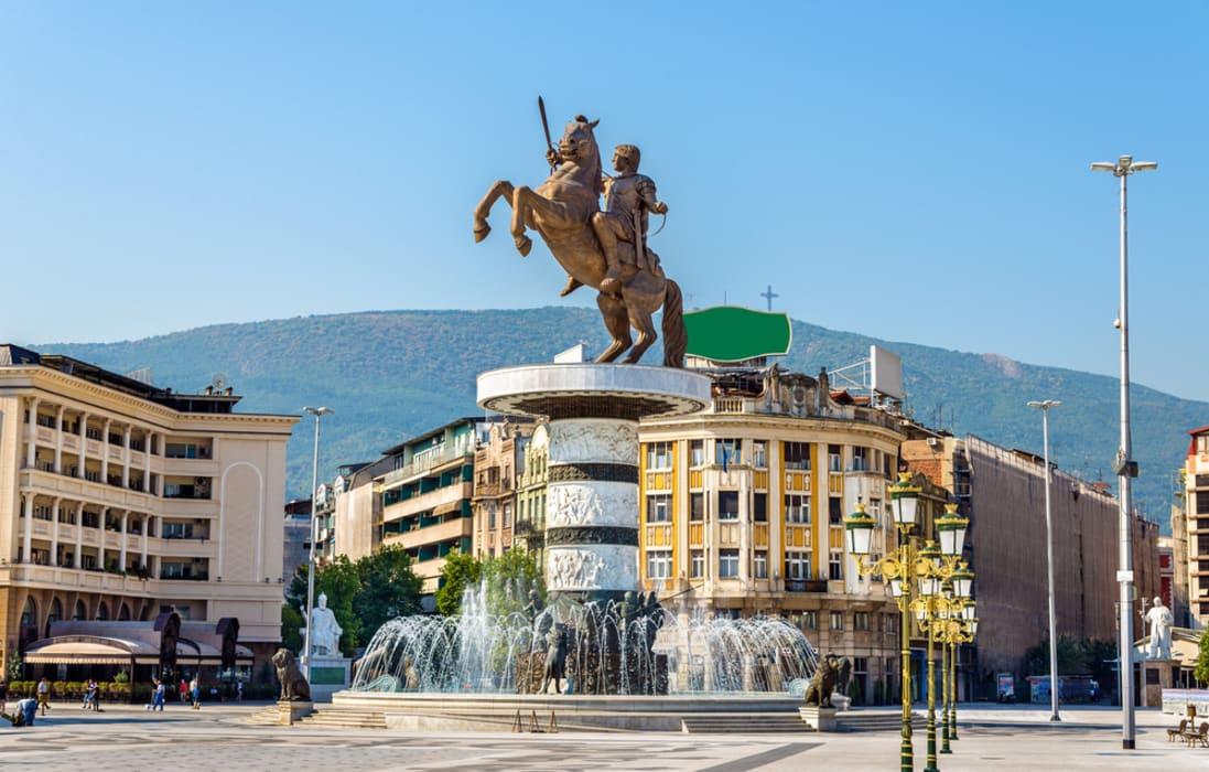 Skopje - The Mother, the Warrior and the Broken Clock