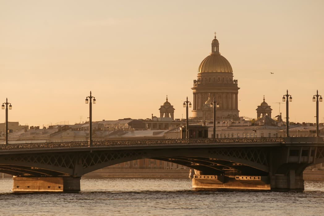 Saint Petersburg - A Walk Back in Time or Between the Two Bridges over the Neva River