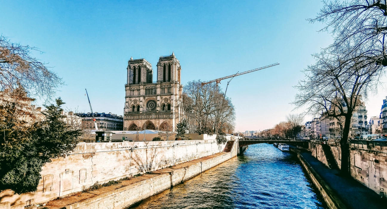 Paris - Walking Along the Seine