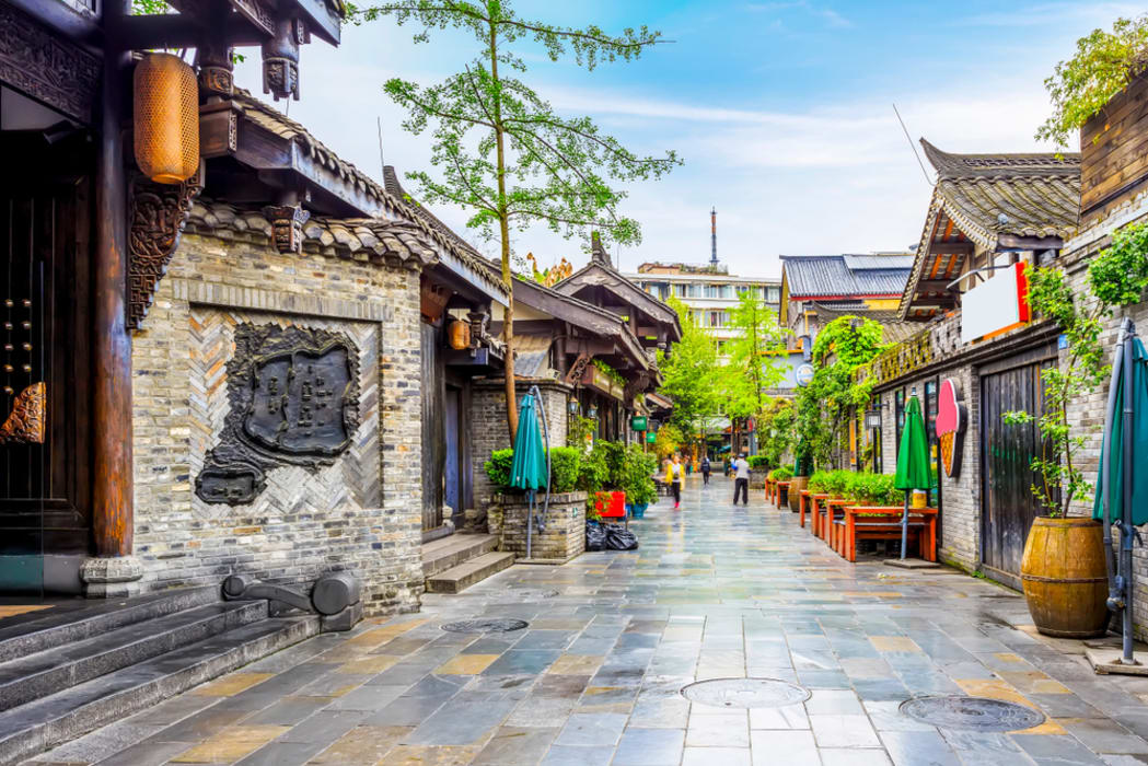 Chengdu - Chengdu Alley (Kuanzhai Xiangzi):  Insider's Guide to Ancient Qing Dynasty