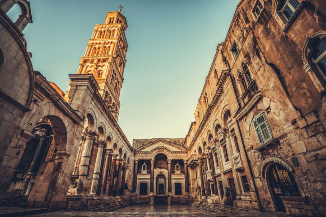 Split - Diocletian's Palace and the Old Town of Split