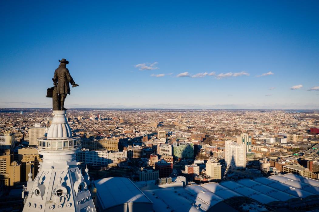 Philadelphia - Philadelphia's Visionaries: The Influence of William Penn and Ben Franklin