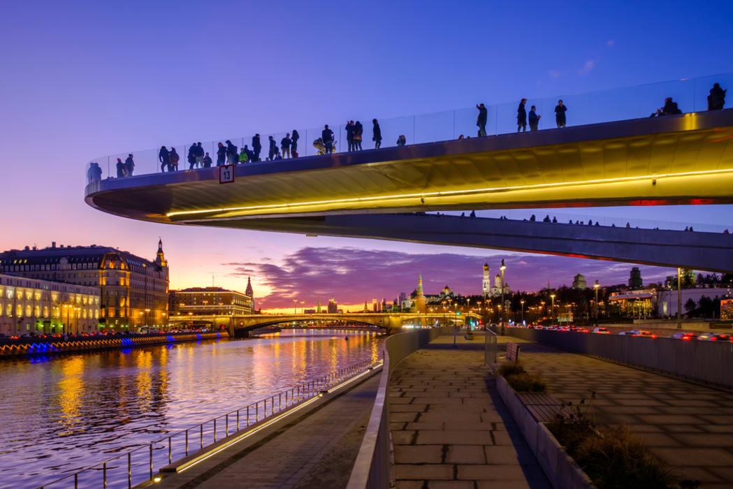 Moscow - Zaryadye Park: Moscow Urbanism