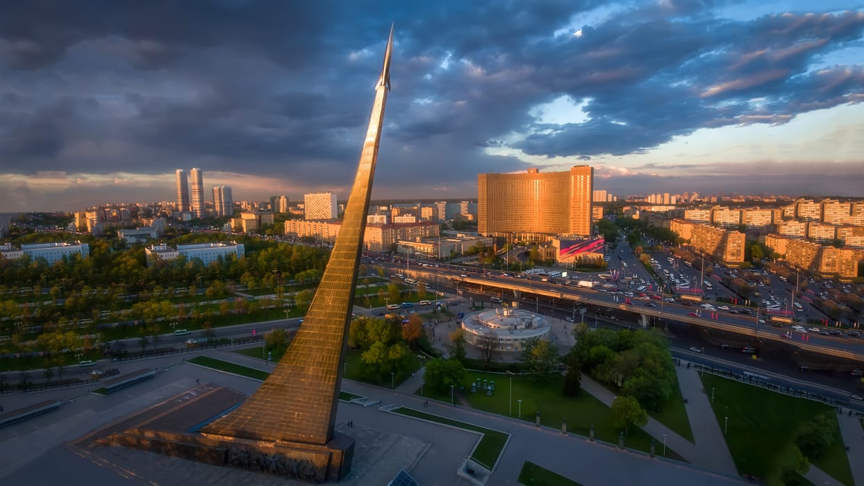 Moscow - Moscow Space Odyssey: Dawn of Space Age